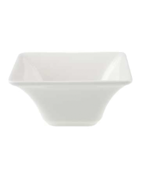 "Bowl, 3-1/2"" x 3-1/2"", 2 oz., deep, premium porcelain, Pi Carre"