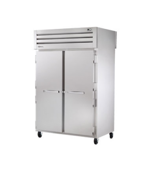 SPEC SERIES® Pass-Thru Heated Cabinet, two-section, stainless steel front & side