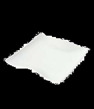 "Plate, 8-1/4"" x 8-1/4"", premium porcelain, Cera"