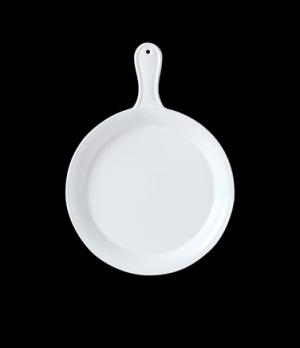 """Presentation Pan, 33-1/2 oz. 10"""" dia., round, vitrified ceramic, Performance, Si"""
