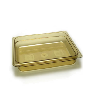 "H-Pan™, 1/2 size, 2-1/2"" deep, hi-temp plastic, polysulfone, non-stick surface,"