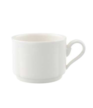 Cup #8, 3 oz., stackable, premium porcelain, La Scala
