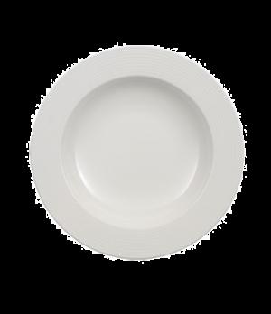 "Rim Soup Plate, 9"", deep, premium porcelain, Perimeter"