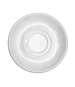 """Cafe Saucer, 6"""" (15cm), round, double well, scratch resistant, oven & microwave"""