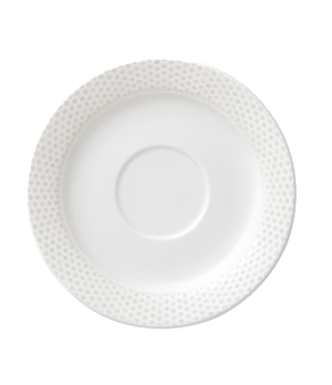 """Saucer,5-7/8"""" (15cm), salamander/microwave/dishwasher safe, premium porcelain, w"""
