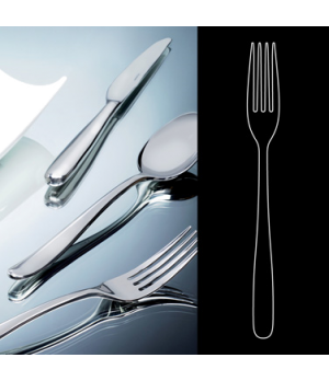 "Dessert Fork, 7-1/2"", stainless steel, La Tavola, Chill Out (USA stock item) (mi"