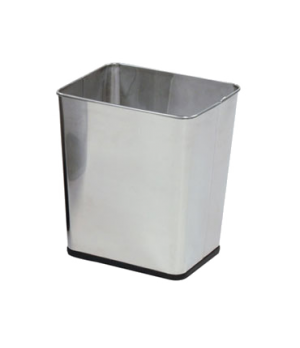 """Concept Collection™ Steel Wastebasket, 7-1/4 gallon, 13-1/2"""" W x 15-1/2"""" H, open"""