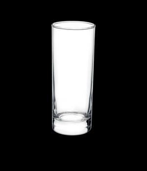 "Cooler, 13-1/2 oz., 2-1/2"" x 6-1/2"", tempered, glass, Bormioli, Cortina (USA sto"