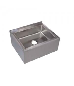 "Mop Sink - 20""D x 28""L x 6""H Bowl Size"