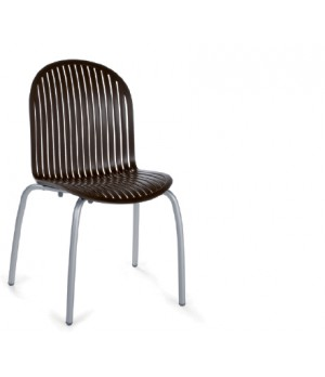 Ninfea Dinner Side Chair - Caffe
