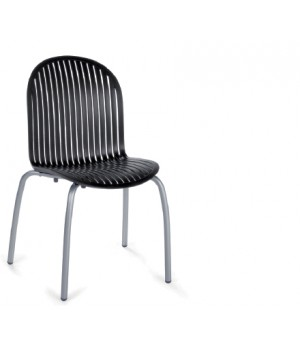Ninfea Dinner Side Chair - Anthracite