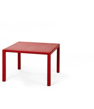 "Aria 60 - 24"" Square Low Table - Rosso"