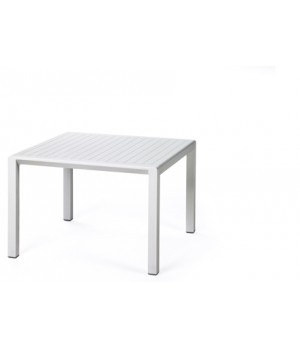 "Aria 60 - 24"" Square Low Table - Bianco"