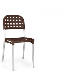 Alaska Side Chair - Caffe