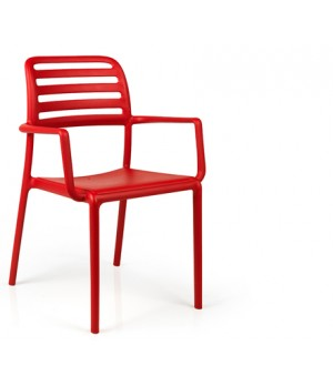 Costa Armchair - Rosso