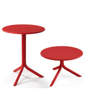 "Spritz 24"" Round Table - Rosso"