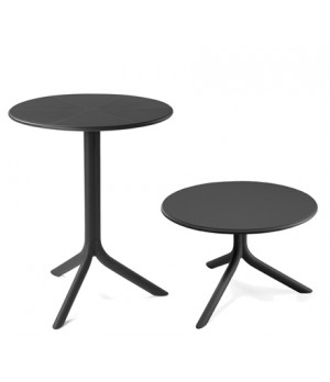 "Spritz 24"" Round Table - Anthracite"