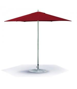 8.5ft  Hexagon Umbrella Single Vent, Manual Lift, Two Piece Pole
