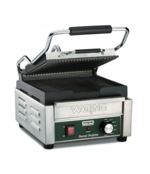 "Italian Perfettoâ""¢ Compact Panini Grill, electric, single, 9-1/4"" x 9-3/4"" cook"