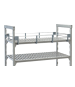 Cambro CPR18543151 Camshelving® Premium Three-Quarter Shelf Rail Kit, 18