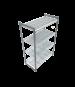 Cambro CBU244272V4580 Camshelving® Basics Starter Unit, 24